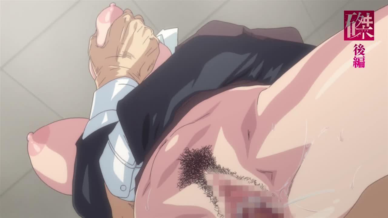 【最新作】「子宮口こじ開けてぇ♡」デカパイ先生がJKコスで犯されてアクメさせられまくり【磔(ハリツケ) 後編】